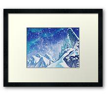 ~Frozen .:A Kingdom of Isolation:. Framed Print