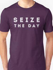 Seize the Day (Inline White) T-Shirt