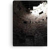 Inside The Tower Canvas Print
