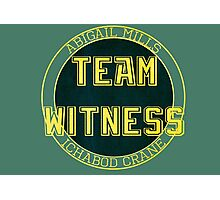 Team Witness. Photographic Print