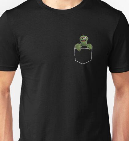 pocket oscar the grouch Unisex T-Shirt