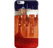 The Tower of London Poppies - 1 iPhone Case/Skin