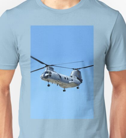CH-46 Sea Knight in flight Unisex T-Shirt