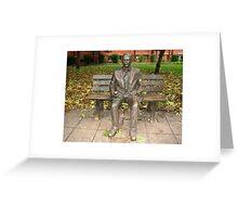 Alan Turing - Enigma  Greeting Card