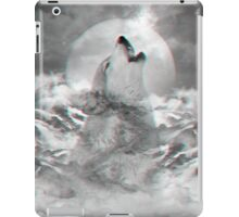 Maybe the Wolf Is In Love with the Moon v.2 (Actual 3D Effect) iPad Case/Skin