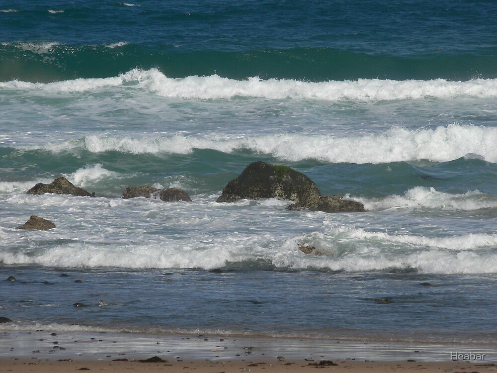 Saltwater Beach N.S.W Australia by Heabar
