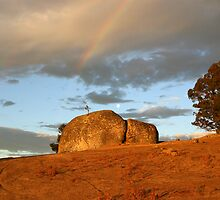 The Rock Near Yea Victoria by boydmace