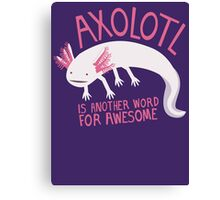 Another Word for Awesome Canvas Print