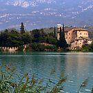 The Castel Toblino by annalisa bianchetti