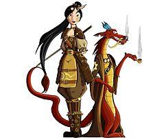 Mulan Steampunk  by Kurostars