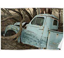 Austin A70 Hampshire Ute, Left Door Poster