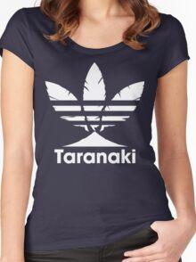 Taranaki (White) Women's Fitted Scoop T-Shirt