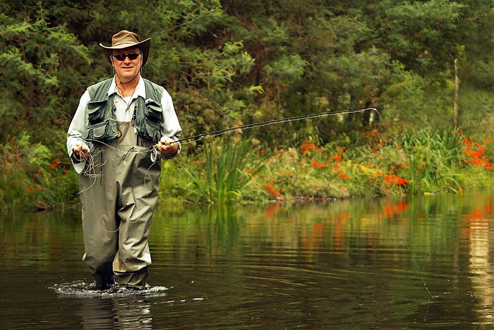 Fishin by Belinda  Strodder