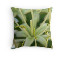 Stamens of Century Plant Throw Pillow