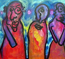 The three wise women by Tamar Dolev
