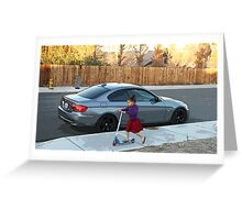 Autumn In Barstow Greeting Card