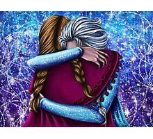 Anna and Elsa ~Frozen Photographic Print