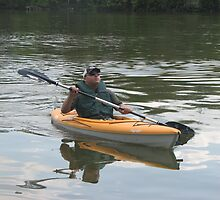Kayak and nature  by Armwire22