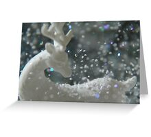 White Christmas II Greeting Card
