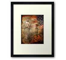 Private Smith's Diary. The Doctor Will See Me Soon.  Framed Print