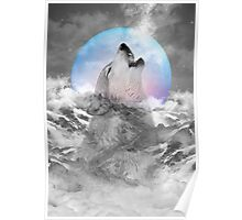 Maybe the Wolf Is In Love with the Moon Poster