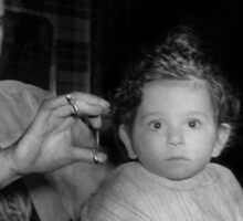 Barber - First Haircut Sticker