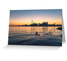 TORONTO 08 Greeting Card