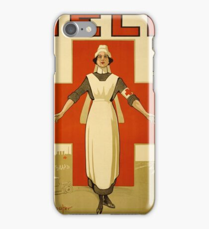 Nurse WWII iPhone Case/Skin