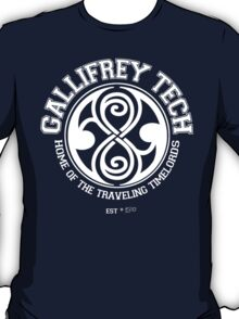 Gallifrey Tech - College Wear 01 T-Shirt