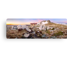 Seamans Hut, Mt Kosciuszko, New South Wales, Australia Canvas Print
