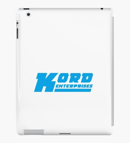 Kord Enterprises iPad Case/Skin
