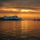 Ferry Service, Queenscliff to Sorrento by Joe Mortelliti