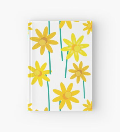 Spring Daffodil Flowers Hardcover Journal