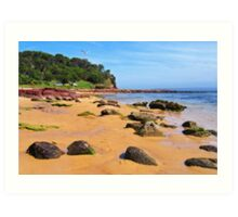 Bar Beach - Merimbula Art Print