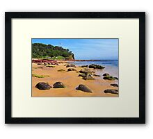 Bar Beach - Merimbula Framed Print
