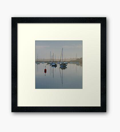 Swan Bay Harbour, Queenscliff Framed Print