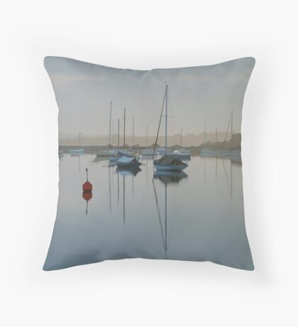 Swan Bay Harbour, Queenscliff Throw Pillow