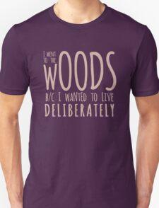 Walden (Blush) Unisex T-Shirt