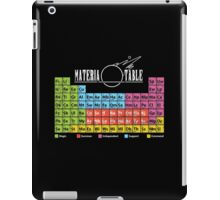 Materia Table iPad Case/Skin
