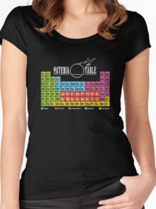 Materia Table Women's Fitted Scoop T-Shirt