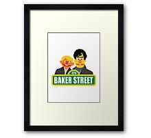221B Baker Street - Sherlock Framed Print