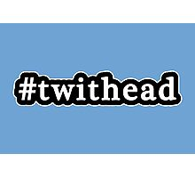 Twithead - Hashtag - Black & White Photographic Print