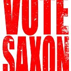VOTE SAXON (the Master) by Penelope Barbalios