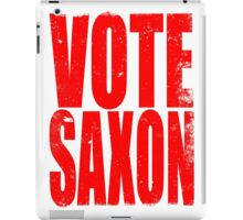VOTE SAXON (the Master) iPad Case/Skin