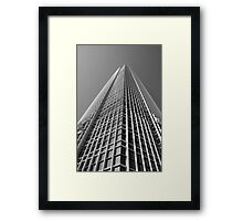 Looking Up v1 - IFC2, Hong Kong Framed Print