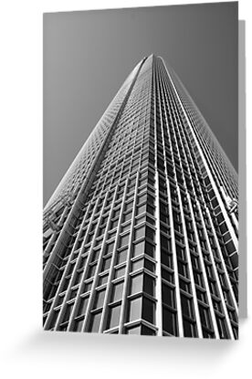 Looking Up v1 - IFC2, Hong Kong by Jonathan Russell