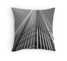 Looking Up v1 - IFC2, Hong Kong Throw Pillow