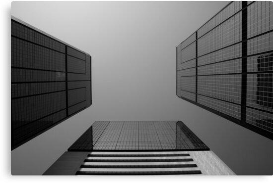 Looking Up v2 - Wan Chai, Hong Kong by Jonathan Russell