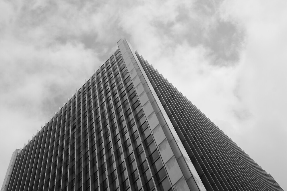 Looking Up v1 - Central District, Hong Kong by Jonathan Russell