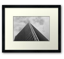 Looking Up v1 - Central District, Hong Kong Framed Print